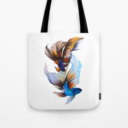 Veiltail Goldfish Tote Bag