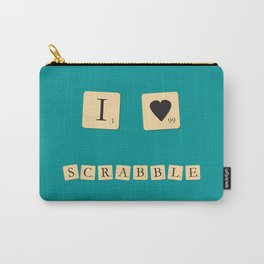 I heart Scrabble Carry-All Pouch