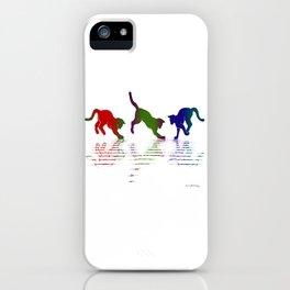 CATS RAINBOW II iPhone Case