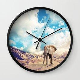 Scenic Route Wall Clock
