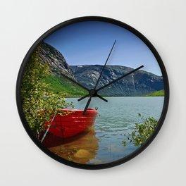 Nigardsbreen Wall Clock