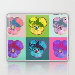 Viola Pop Art Laptop & iPad Skin