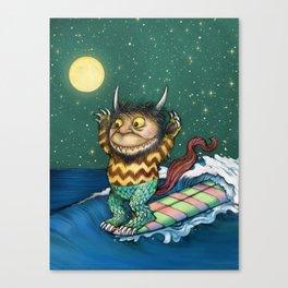 One Wild Ride Canvas Print