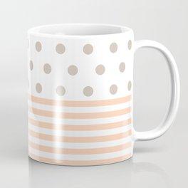 Simple pink dot Coffee Mug