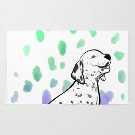 Dalmatiner Puppy Rug