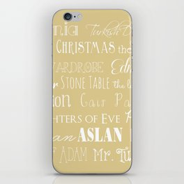 Narnia Celebration- oat iPhone Skin