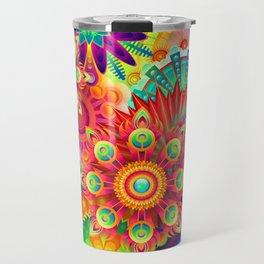 Colrful abstratin. Travel Mug