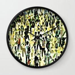 Shop Till You Drop Wall Clock