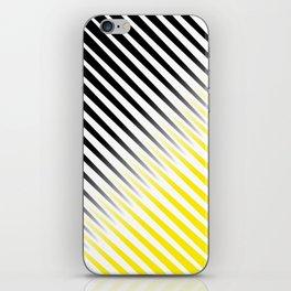 Black and yellow background #society6 #decor #buyart #artprint iPhone Skin