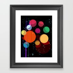 Abstract Universe Framed Art Print