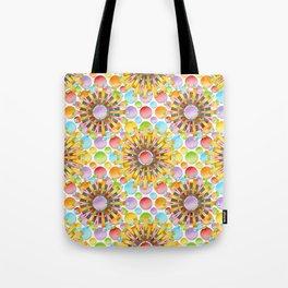 Birthday Party Polka Dots Tote Bag