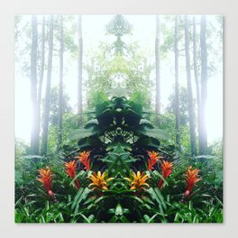 Into the jungle #3 Canvas Print