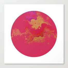 Vivid Planet 01 Canvas Print