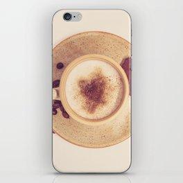 Vintage Coffee Love Photography iPhone Skin