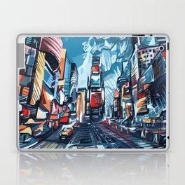 new york city-times square urban art Laptop & iPad Skin