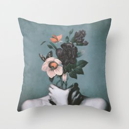 inner garden 3 Throw Pillow