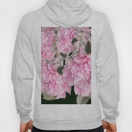 Pink Bouquet On A Black Background  #society6 #buyart Hoody