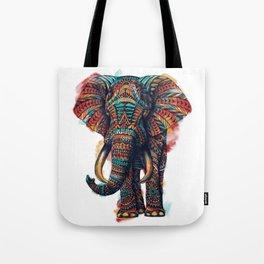 Ornate Elephant (Watercolor) Tote Bag