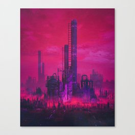CANDY SMOG (everyday 10.05.17) Canvas Print