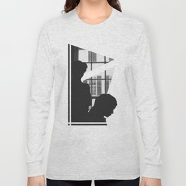 Silhouettes In Window Long Sleeve T-shirt