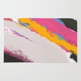 Abstract Holi Rug
