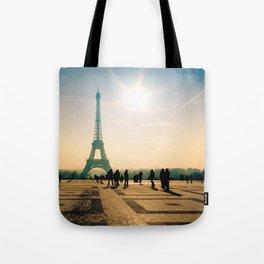 tour eiffel architecture in Paris Tote Bag