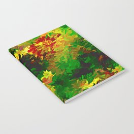 Emerald Forms Abstract Notebook