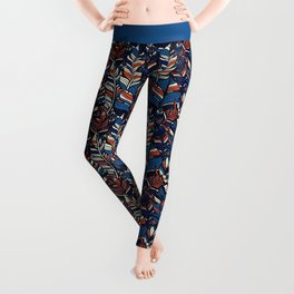 Boho Style illustration Leggings