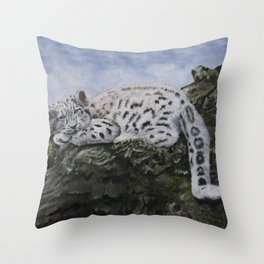 Blue Eyes by Teresa Thompson Throw Pillow