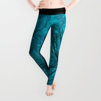 anchor Leggings featuring Stars Can't Shine Without Darkness  by soaring anchor designs