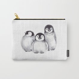 Baby Penguins Carry-All Pouch