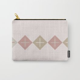 Cross Stitch Blush Carry-All Pouch