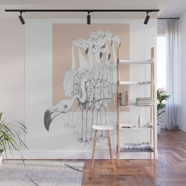 Weird & Wonderful: Flamingo Boys Wall Mural