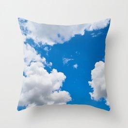 Clouds 3 Throw Pillow