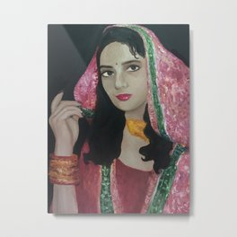 Pakistani Bride Metal Print