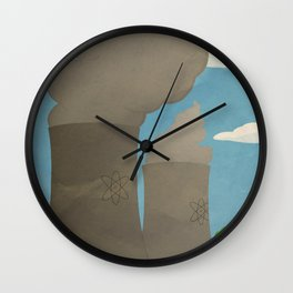 Silver Screen Tourism: SPRINGFIELD, USA / THE SIMPSONS Wall Clock