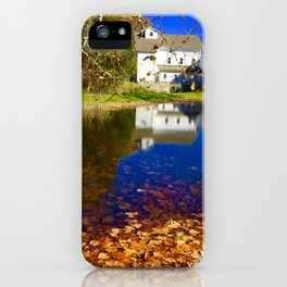 Bright Fall Day iPhone Case