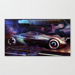 EMV Speeder Canvas Print