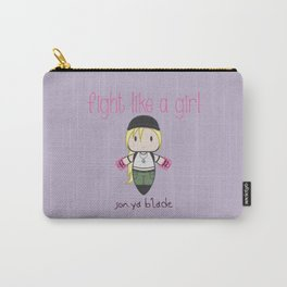 Fight Like a Girl - Mortal Kombat's Sonya Blade Carry-All Pouch