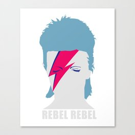 ROCK N ROLL STAR  #GRAPHIC HEAD rebelrebel Canvas Print
