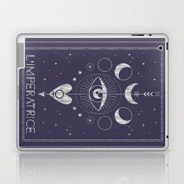 L'Imperatrice or L'Empress Tarot Laptop & iPad Skin