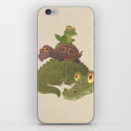 Swamp Squad iPhone Skin