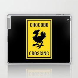 FINAL FANTASY: WARNING, CHOCOBO CROSSING Laptop & iPad Skin