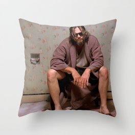 The Dude Throw Pillow
