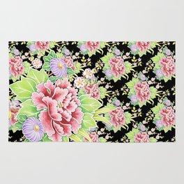Kimono Bouquet Chintz Ditsy Rug