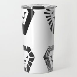 animal PICTOGRAMS vol. 3 - LIONS Travel Mug