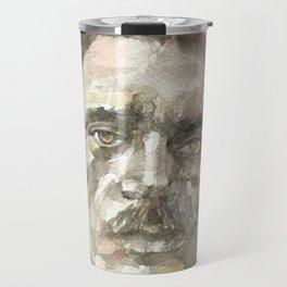 MAXIM GORKY - watercolor portrait.1 Travel Mug
