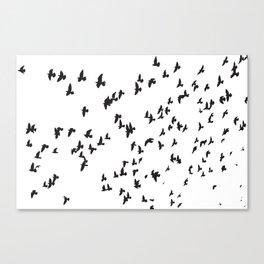 Happy Birds Canvas Print
