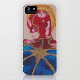 Carol Danvers 2 iPhone Case