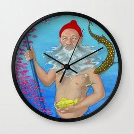 Ruler of the Deep Wall Clock